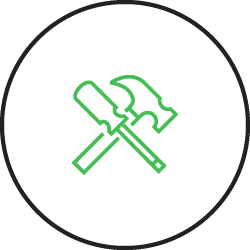 Playground design and installation icon