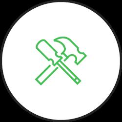 Playground design and installation icon