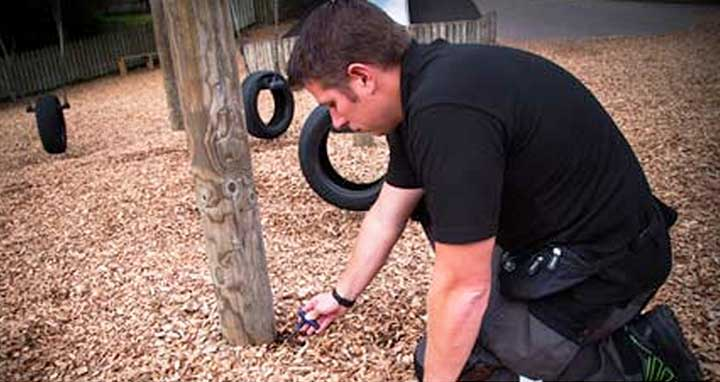 Playground inspection and maintenance