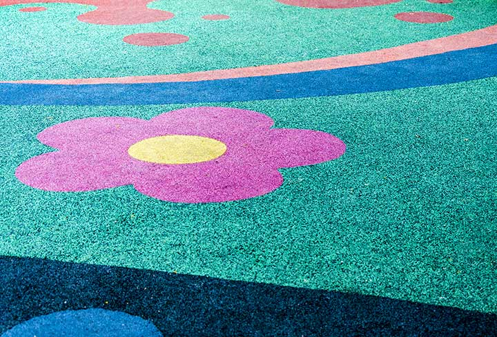playground safety surface repair and replacement
