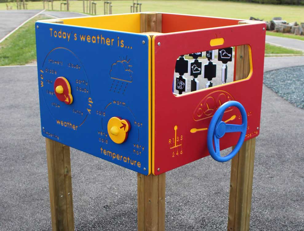 Activity Play Panels for Playgrounds