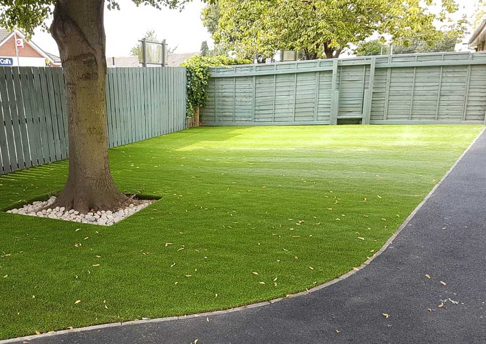 Artificial Grass Playground Safety Surfacing