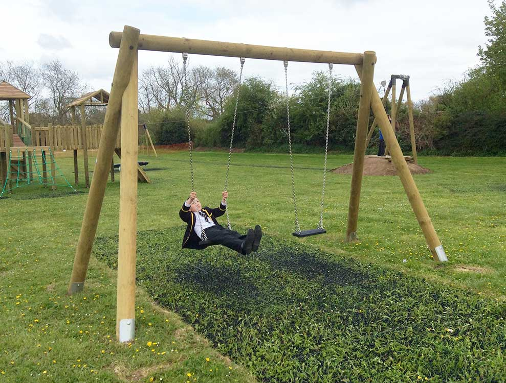 Swing Sets and Birds Nest Swings