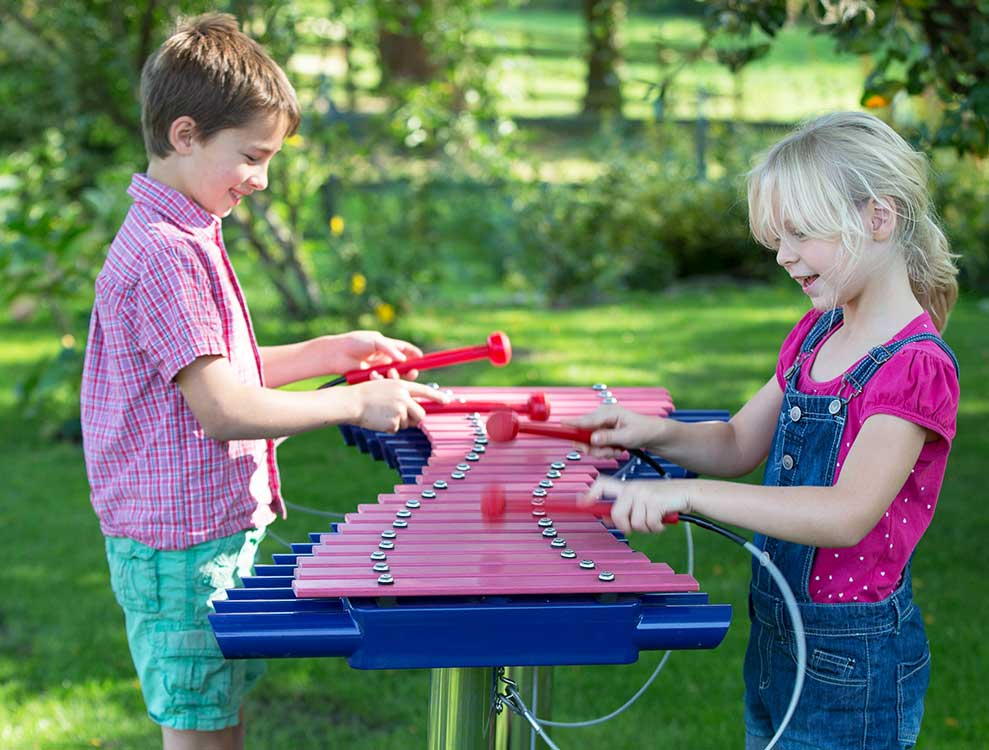 Duo Glockenspiel Outdoor Musical Instrument