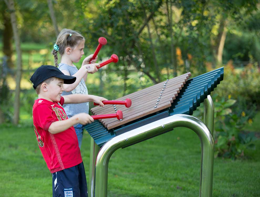 Grand Marimba Outdoor Musical Instrument