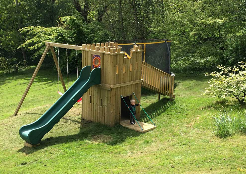 King Ronnies Castle Play Tower
