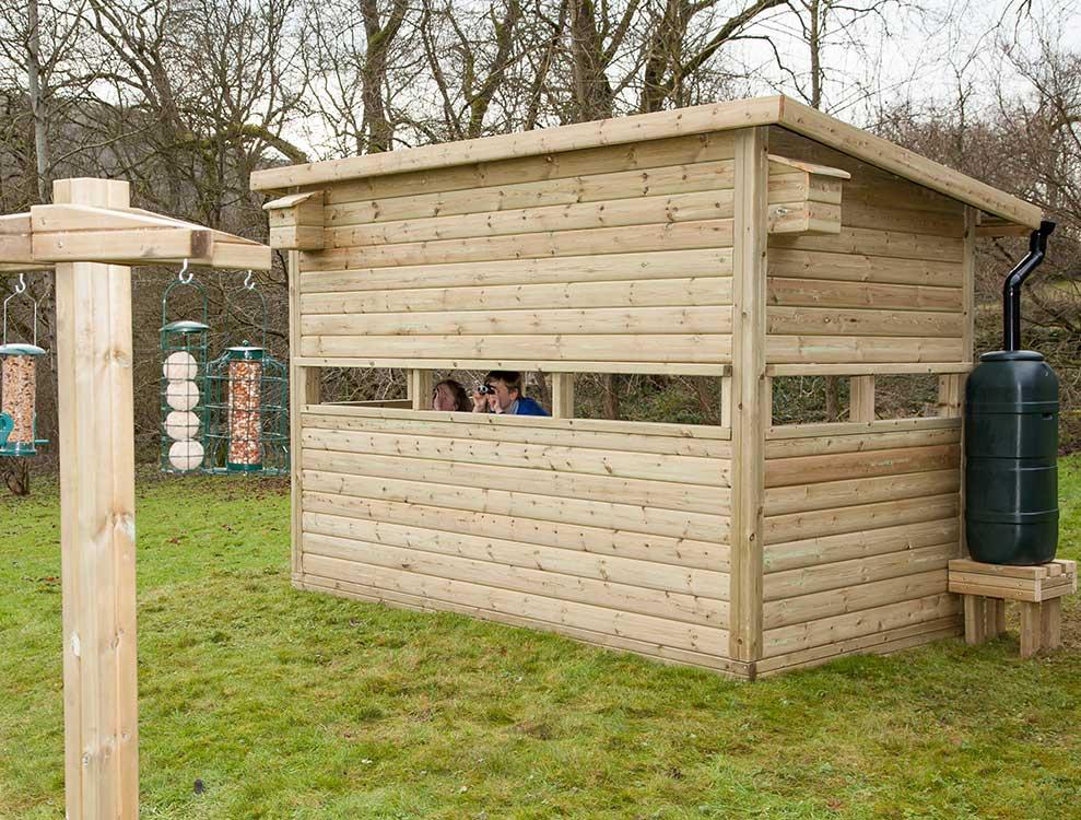 Nature Watch Hut (bird hide) 2