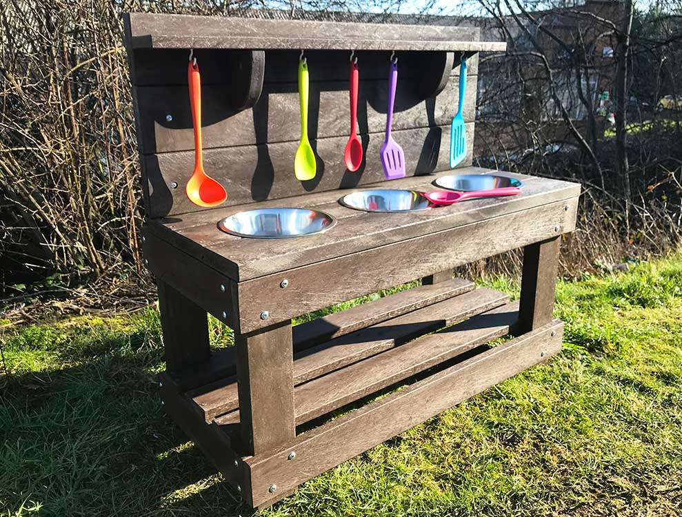 Recycled Plastic Mud Kitchen sensory play equipment