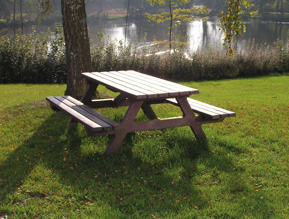 Recycled Plastic Picnic Table for Parks