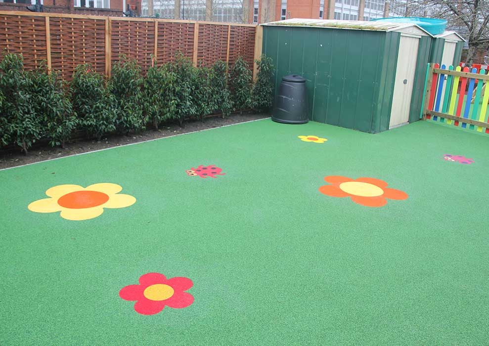 wetpour playground safety surfacing